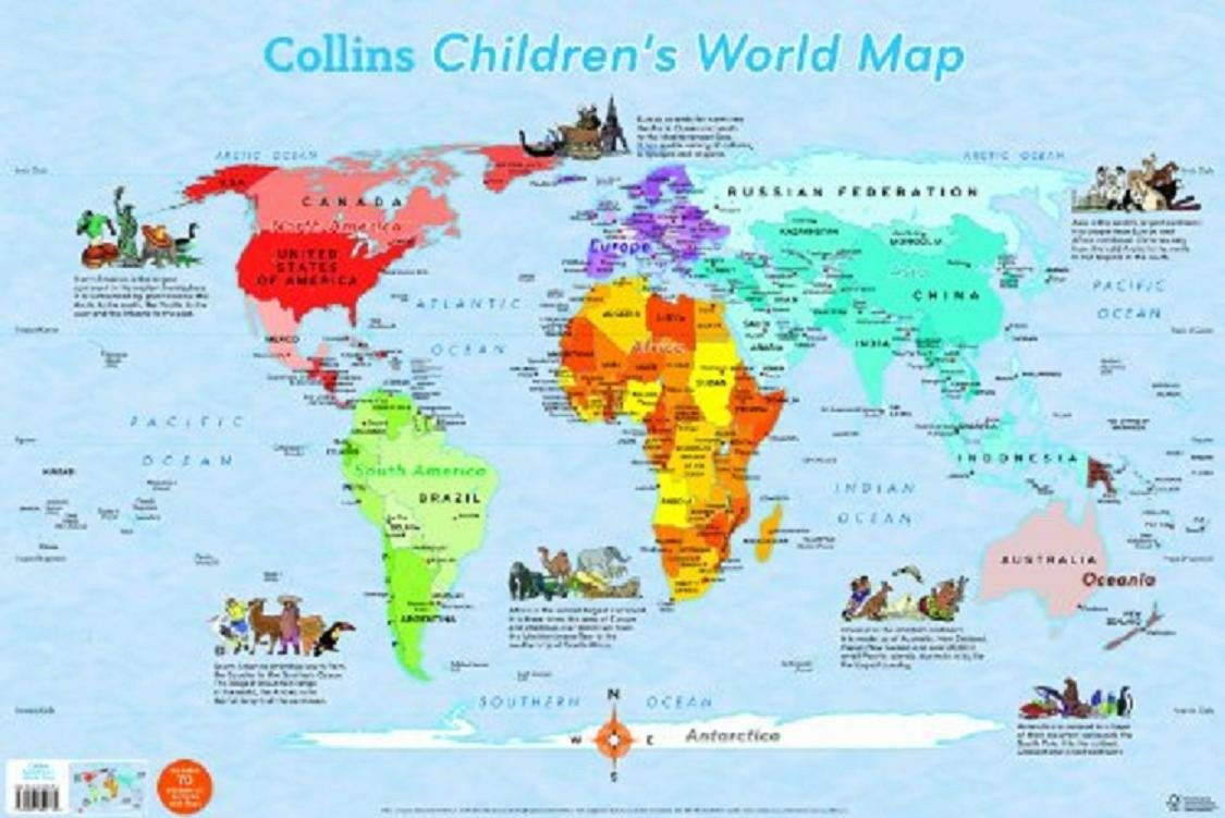 World Map for Kids Printable,World Map for Kids Printable
