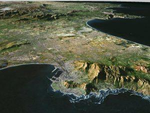 3D Satellite World Map