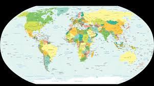 World Political Map PDF,World Political Map Word