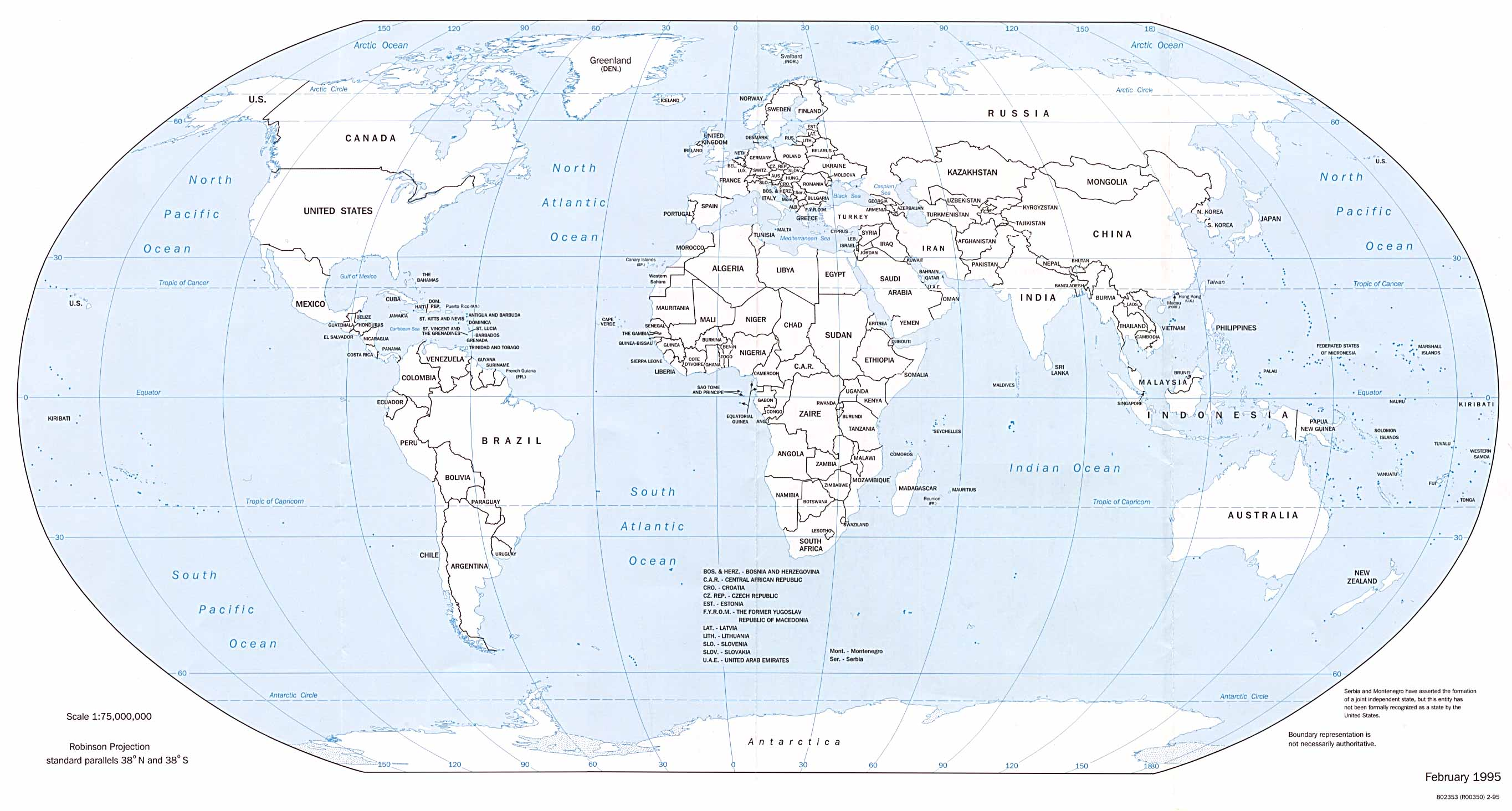 World Political Map PDF,World Political Map Outline