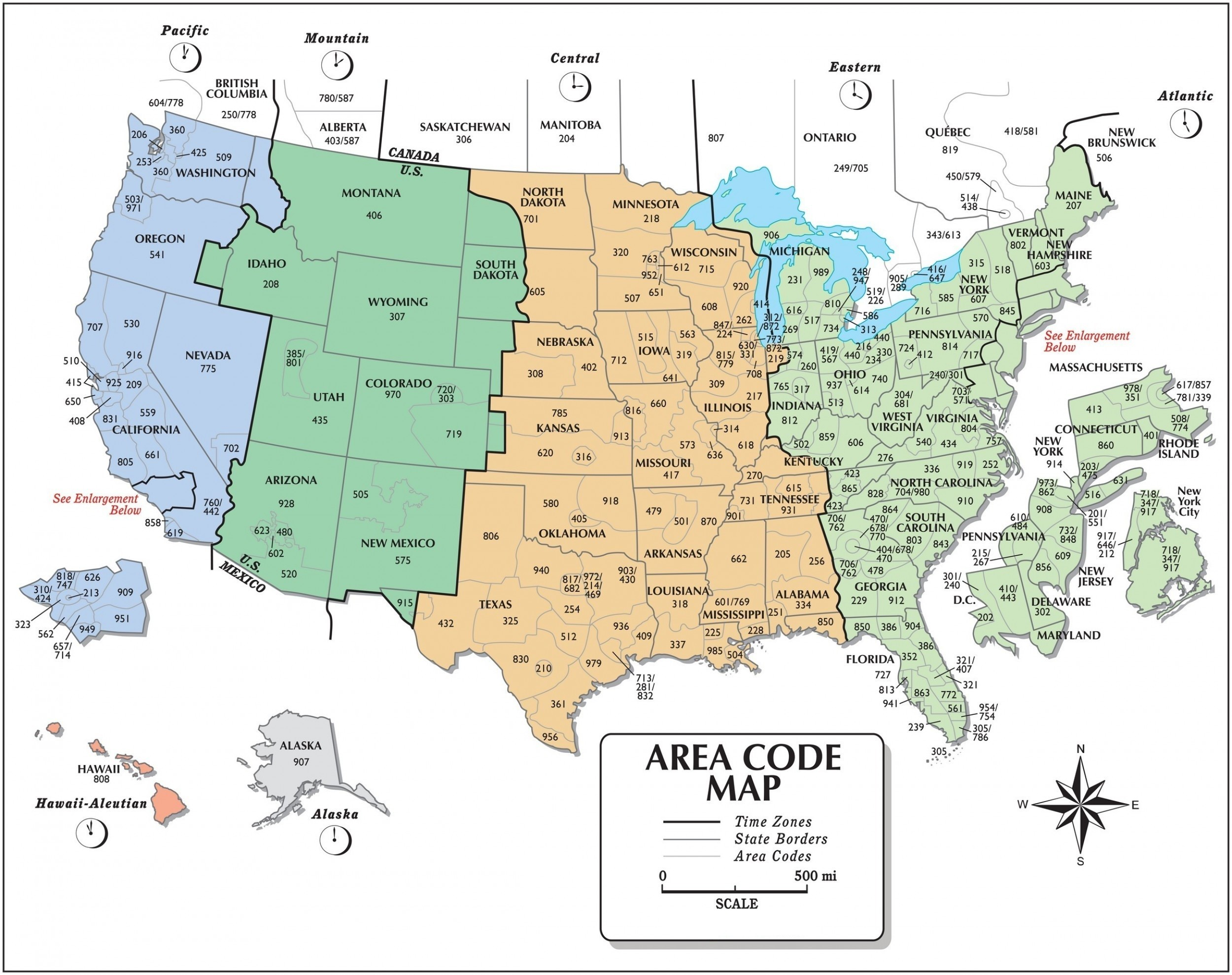 Printable Time Zones Map With State Names,World Time Zone Map PDF