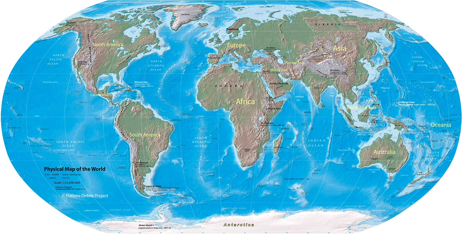Printable World Physical Map Outline,Blank World Physical Map HD