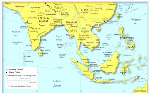 South-East Asia Map Quiz