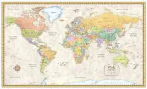 Free Large World Map Poster