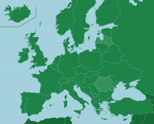 Europe Map Quiz Game