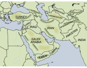 Western Asia Map Quiz