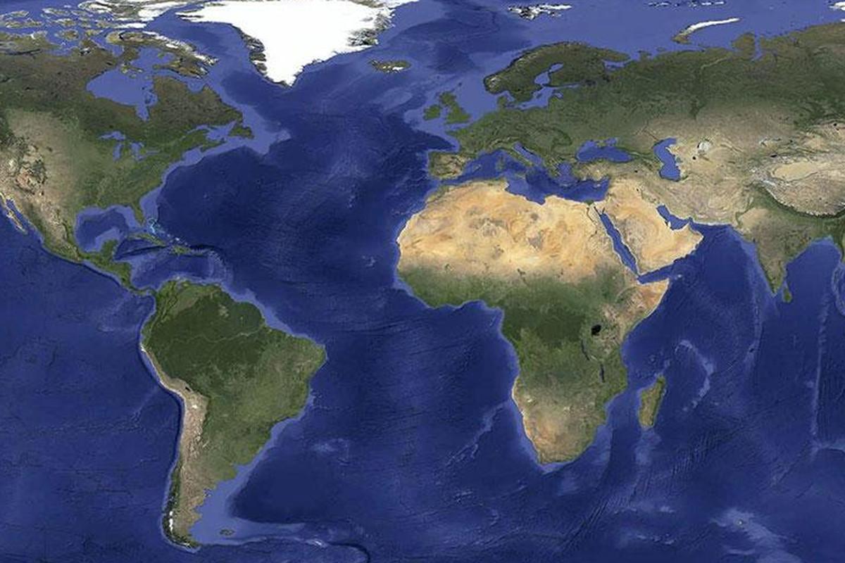 Google World Map Satelite