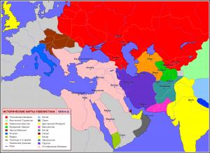 Political Map Of West Asia