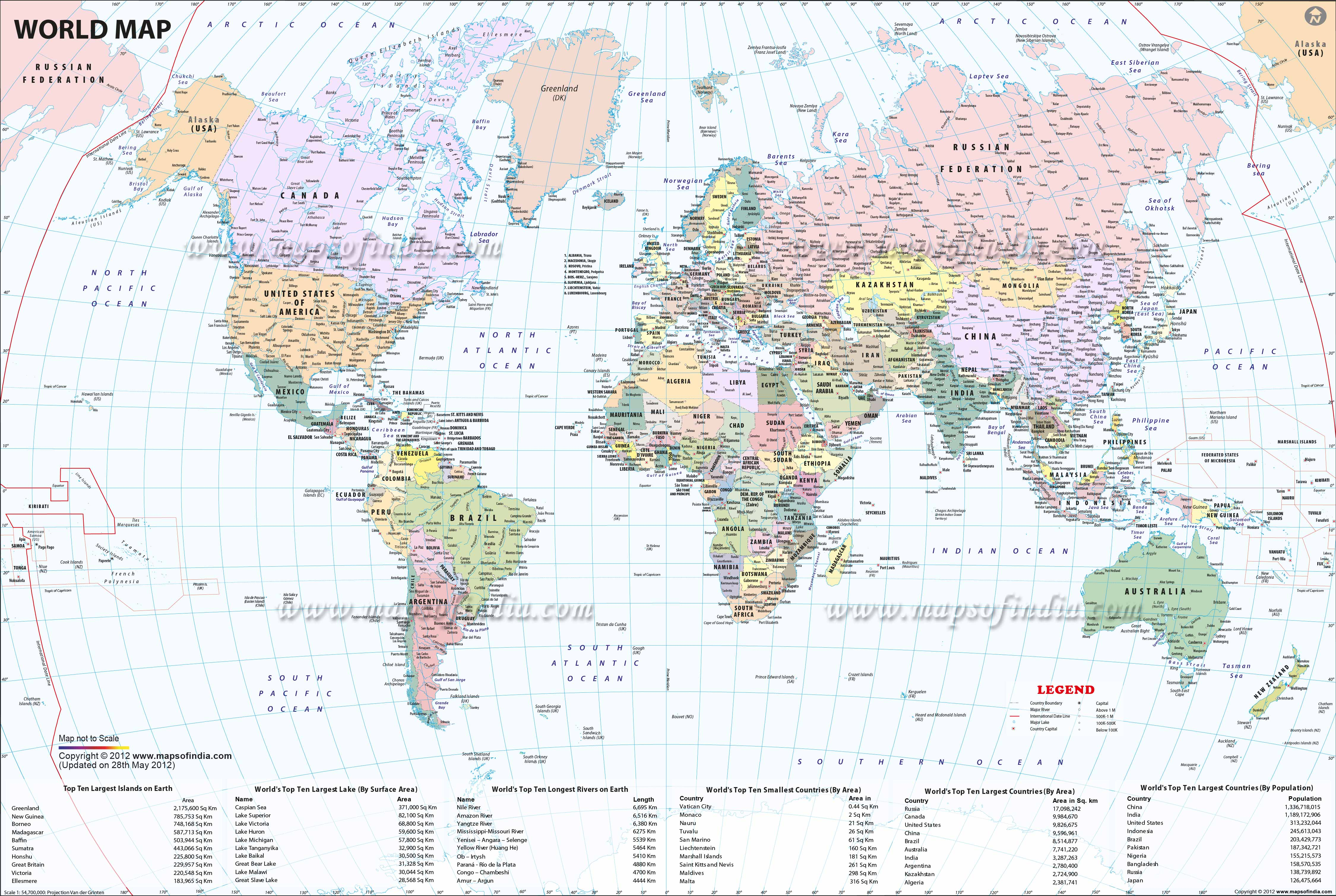 Image of: Large Printable World Map With Countries In Pdf World Map With Countries