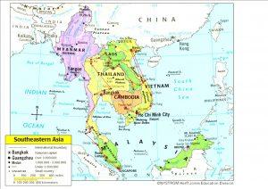 West Asia Map Quiz