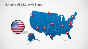 Editable US Map Free