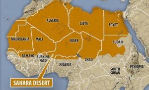 Printable Sahara Desert