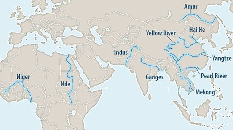 World River Map
