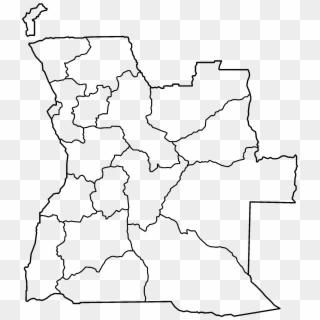 Printable Angola Map Outline