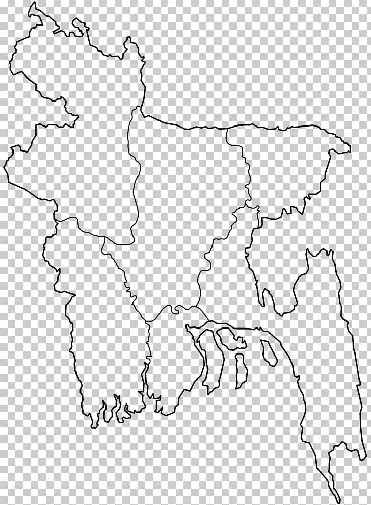 Outline Map of Bangladesh