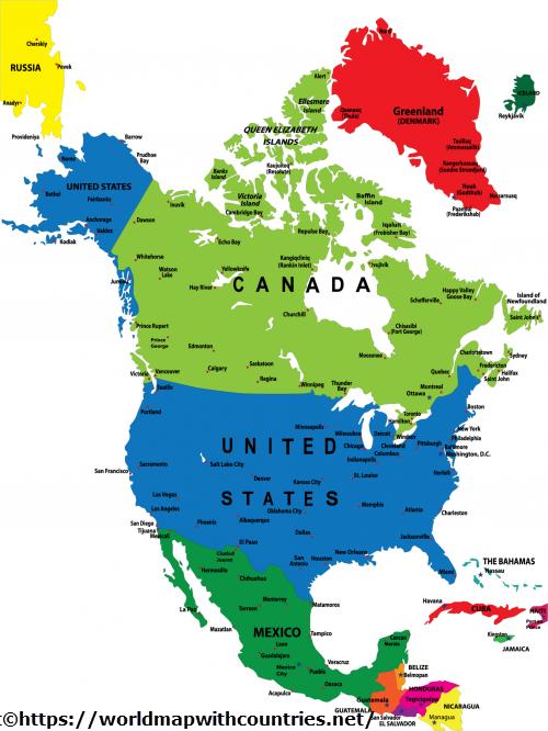 map north america 3