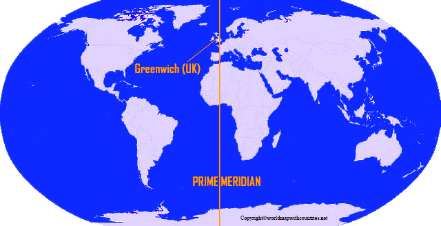 World Map With Prime Meridian pdf